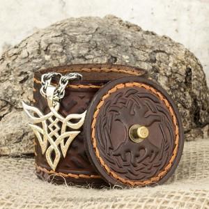 Авторская шкатулка из кожи - Родовое дерево
